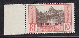 OCEANIE 142 FRANCE LIBRE LUXE NEUF SANS CHARNIERE - Neufs
