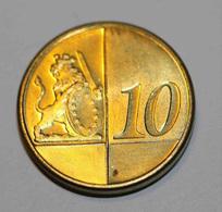 GIBRALTAR 2004 BU EURO PATTERN EURO ESSAI 10 Cents - 10 Euro Cent - EURO