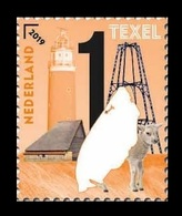Netherlands 2019 Mih. 3793 Beautiful Netherlands. Texel Island. Lighthouse. Fauna. Lamb MNH ** - Period 2013-... (Willem-Alexander)