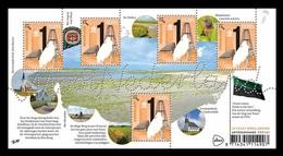 Netherlands 2019 Mih. 3793 Beautiful Netherlands. Texel Island. Lighthouse. Fauna. Lamb. Chuches. Windmills (M/S) MNH ** - Period 2013-... (Willem-Alexander)