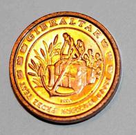 GIBRALTAR 2004 BU EURO PATTERN EURO ESSAI 2 Cents - 2 Euro Cent - EURO