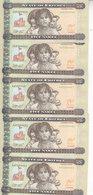 ERITREA 5 NAKFA 2015 P-14 Lot X5 UNC Notes */* - Eritrea