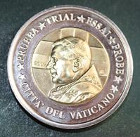 "Grande Pièce De 2 Euro 2007 ""Cité Du Vatican - Citta Del Vaticano / Pape Benoit XVI"" Specimen - Essai - 2 Euros - Vatican"
