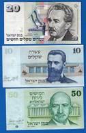 Israel  5  Billets - Israel