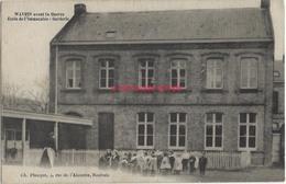 CPA-WAVRIN- Avant La Guerre De  1914-Immaculée-école, Garderie-éd. Ch Planque à Roubaix- TB état - France