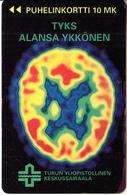FINLAND - Turku University Hospital, Turun Puhelin Telecard, Tirage 12500, Exp.date 12/96, Used - Finlande