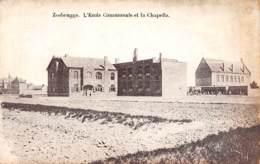 ZEEBRUGGE - L'Ecole Communale Et La Chapelle - Zeebrugge