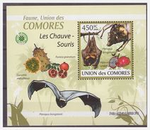 0381 Comores 2009 Vleermuizen Bats Chauve-souris S/S MNH - Vleermuizen