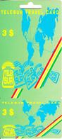 SURINAM - TeleSur Prepaid Card $3, Mint - Surinam