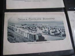 4 Postcards,  14cm X 8,8cm  Advertising  C1900 CACAO Chocolate BENSDORP Printed For USA -  Holland, VG - Chocolade