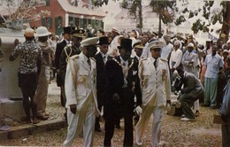 Liberia, President William Tubman After 2nd Inauguration (1952) Postcard - Liberia
