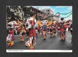 NASSAU - BAHAMAS - JUNKANOO BAY STREET - PHOTO E. LUDWIG  BY JOHN HINDE STUDIO - Bahamas