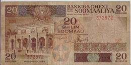 SOMALIA P. 33a 20 S 1983 F - Somalia