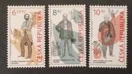 CZECH REPUBLIC   - MNH** - 2004  - # 396/398 - Tschechische Republik