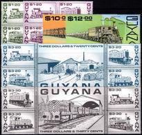 Guyana 1987 Guyana Railways Unmounted Mint. - Guyana (1966-...)
