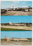 1136/ LUXEMBOURG AEROPORT Airport, Aeropuerto, Aeroporto.- Non écrite. Unused. No Escrita. Non Scritta. Ungelaufen. - Aeródromos
