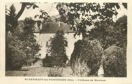 """/ CPA FRANCE 01 """"Saint Germain Les Paroisses, Château De Mérieux"""" - France"""
