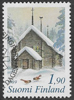 Finland SG1199 1989 Christmas 1m.90 Good/fine Used [39/31806/6D] - Finland