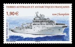 TAAF 2019 Mih. 1045 Le Champlain Ship MNH ** - Franse Zuidelijke En Antarctische Gebieden (TAAF)