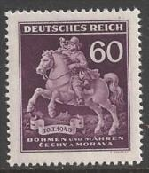 1943 Stamp Day, Mint Never Hinged - Bohemia & Moravia