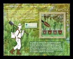 TAAF 2019 Mih. 1047 (Bl.71) Flora. Restoration Of Island Cape Myrtle On Amsterdam Island MNH ** - Franse Zuidelijke En Antarctische Gebieden (TAAF)