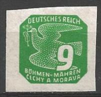 1943 9h, Newspaper, Mint Hinged - Bohemia & Moravia