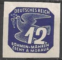 1943 12h, Newspaper, Mint Hinged - Bohemia & Moravia