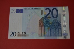 20 EURO SPAIN ★ V ★ M021 A4 - V23401673311 ★ UNC - FDS - NEUF - TRICHET - EURO