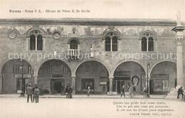 73369746 Ravenna_Italia Piazza Vittorio Emanuele Affresco Del Pittore Ravenna It - Italia