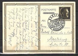 Allemagne Entier  Postal  Propagande Berlin 20 04 1939   Du   50 ème Anniversaire Du Chancelier Du III Reich - Allemagne