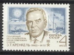 Sowjetunion 4123 ** Postfrisch Ernst Krenkel - Neufs