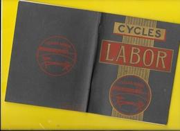 """Catalogue 1909 Cycles """"LABOR"""" Machines à Coudre Photos Schilles, Godard...48 Pages + Couverture Format 17 X 14 Cm Env.. - Cyclisme"""