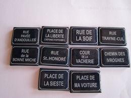 Les Plaques De Rue  13 - Geluksbrengers
