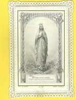 HOLY CARD - CANIVET - IMAGE PIEUSE RELIGIEUSE - DENTELLE - EDITEUR LETAILLE 417 - Imágenes Religiosas