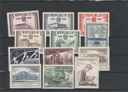 Jahrgang 1955 Kpl. Postfrisch - Österreich