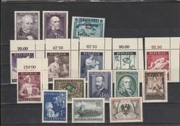 Jahrgang 1954 Kpl. Postfrisch - Österreich