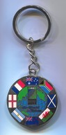 RUGBY - 2003 WORLD CUP AUSTRALIA OFFICIAL KEYCHAIN KEYRING, Enamel, D 40 Mm - Rugby