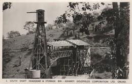 Ghana  OBUASI Ashanti  Goldfields South Shaft Gold Mine RP Gh56 - Ghana - Gold Coast