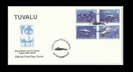 Tuvalu - Pygmy Killer Whale WWF - Unaddressed FDC - 2006 - Tuvalu