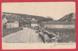 Nismes - Rue De La Station ... Scierie - 1908 ( Voir Verso ) - Viroinval