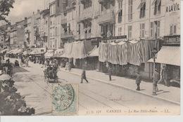 19/1/ 40  - CANNES  ( 06 )  - LA  RUE  FÉLIX  FAURE - Cannes