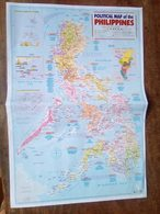 Political Map Of The Philippines - Cartes Topographiques