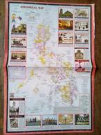 Historical Map Of The Philippines - Cartes Topographiques