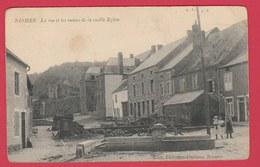 Nismes - La Rue Et Les Ruines De La Vieille Eglise - 1912 ( Voir Verso ) - Viroinval