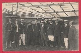 Nismes Aviation ... Top Carte ... Avion Sous Un Hangar - Le Comité  - 1911 ( Voir Verso ) - Viroinval