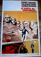 AFF CINE US LA MORT AUX TROUSSES (Hitchcock) 69X104cm Approx 1959 1 Sheet - Posters