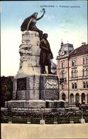 Cp Ljubljana Laibach Slowenien, Presernov Spomenik - Slowenien