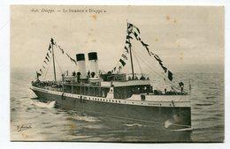CPA  Bateau : Dieppe Steamer  Dieppe  VOIR  DESCRIPTIF §§§ - Paquebots