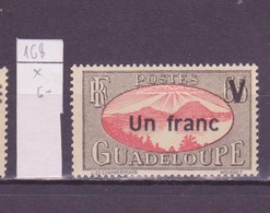 Guadeloupe 1943-44 Y&T N°168 - Michel N°(?) * - 1fs65c La Rade De Saintes - Guadeloupe (1884-1947)