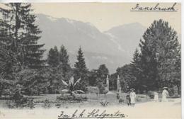 AK 0116  Innsbruck - Partie Im K. K. Hofgarten Um 1900-1910 - Innsbruck